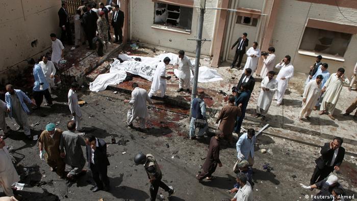 Pakistan Quetta Bombenanschlag in einer Klinik