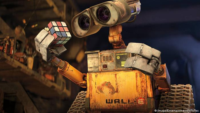 Wall E Roboter aus dem Pixar Film (Imago/EntertainmentPictures)