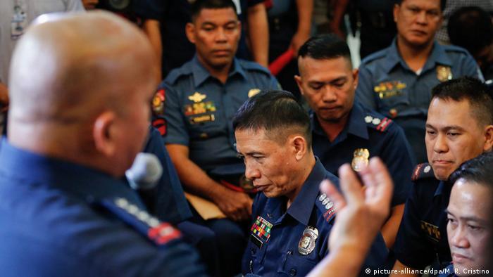 Philippinen - Drogenkrieg - Polizeichef Ronald Dela Rosa
