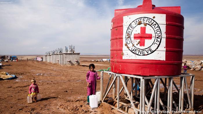 Гуманитарная помощь МККК