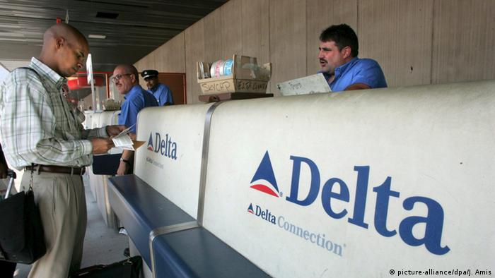 US-Fluggesellschaft Delta (picture-alliance/dpa/J. Amis)