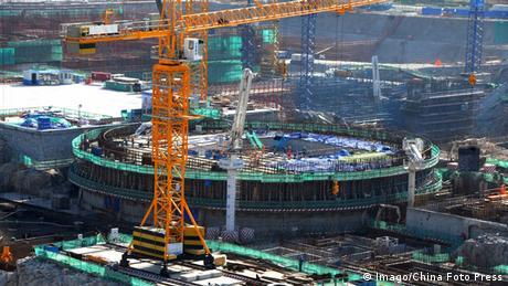 China Lianyungang Bau des Atomkraftwerk (Imago/China Foto Press)