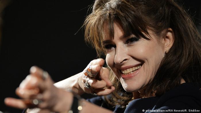 Schauspielerin Fanny Ardant (Foto: picture-alliance/RIA Novosti/R. Sitdikov)