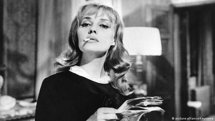 Schauspielerin Jeanne MOREAU (Foto: picture-alliance/Keystone)