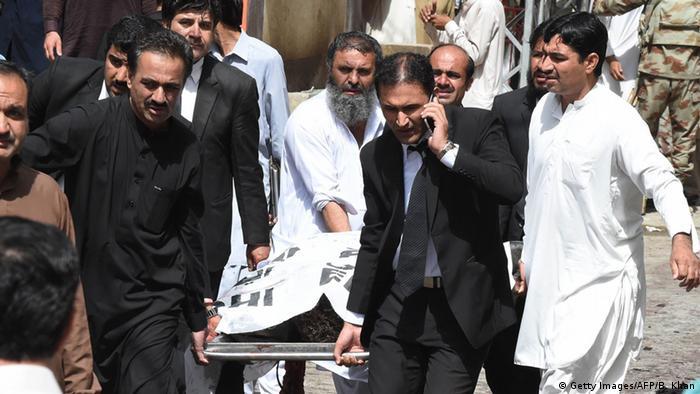 Pakistan Quetta Bombenanschlag vor einer Klinik