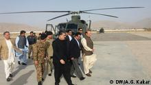 Prime Minister Nawaz Sharif arriving Quetta on a special visit DW/A.G. Kakar