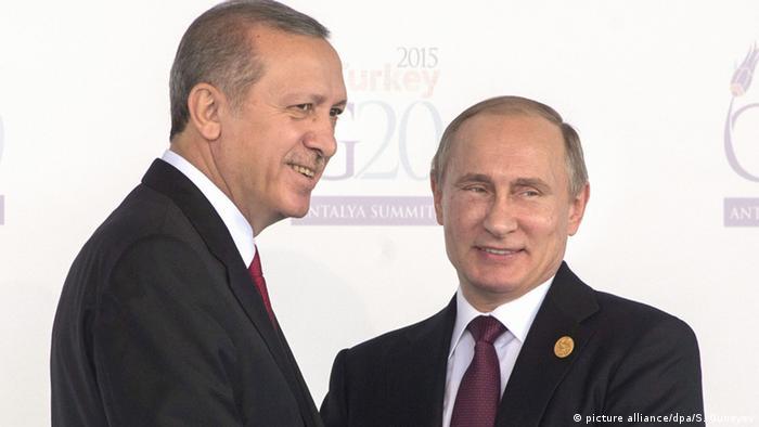 Türkei Recep Tayyip Erdogan und Wladimir Putin ARCHIV