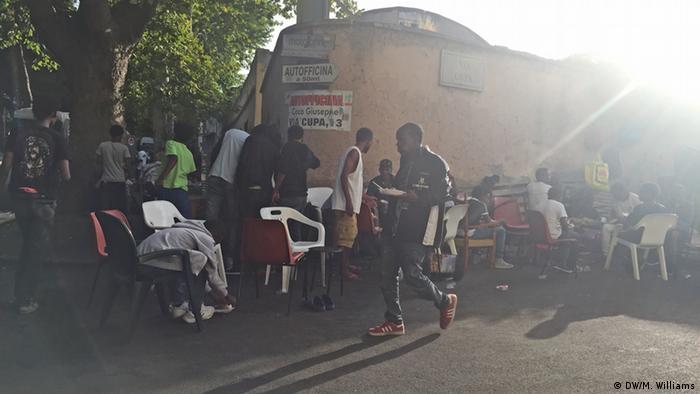 Italien versucht Flüchtlinge abzuschrecken