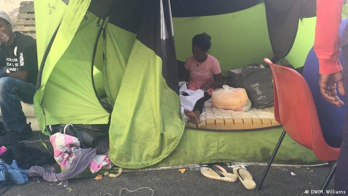boy in tent copyright: Megan Williams