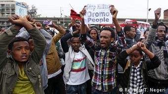 Äthiopien Protest (Reuters/T. Negeri)