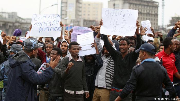 Äthiopien Protest