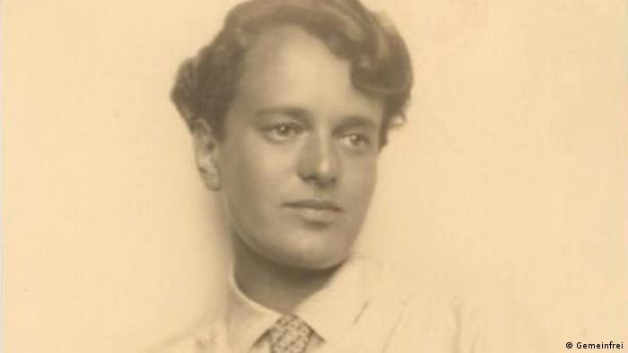 Margarete Heymann-Loebenstein im Porträt fotografiert