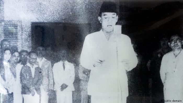 Indonesische Unabhängigkeitserklärung Jahrestag (public domain)