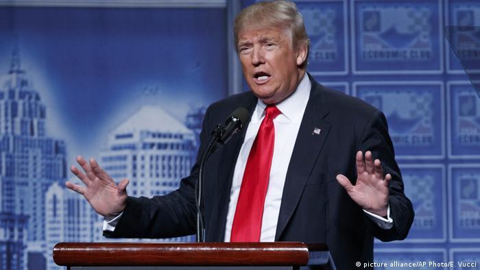 USA Trump zur Ausrichtung der US-Wirtschaftspolitik