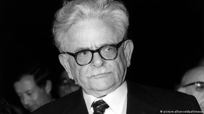 Writer Elias Canetti