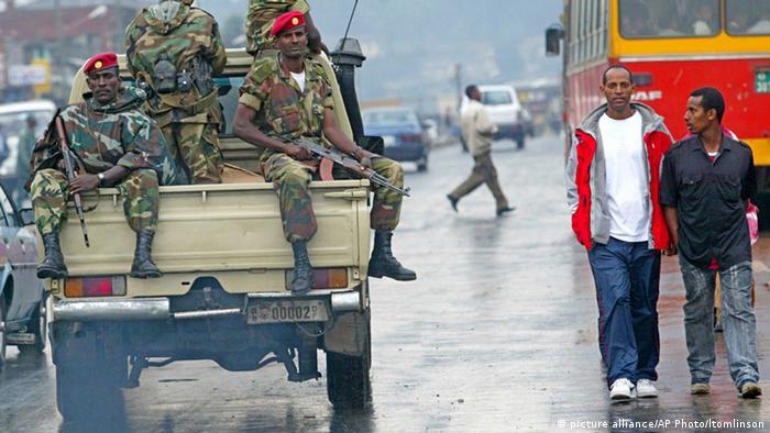 Äthiopien Regierung Soldaten ARCHIV