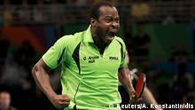 Brasilien Olympische Spiele in Rio - Tischtennisspieler Quadri Aruna
