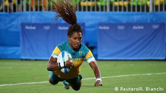 Brasilien Olympische Spiele in Rio - Rugbyspielerin Ellia Green