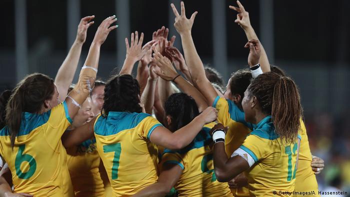 Brasilien Olympische Spiele in Rio - Rugby Brasilien vs. Neuseeland