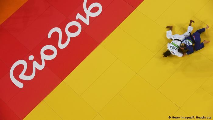 Brasilien Olympische Spiele in Rio - Judoka Rafaela Silva