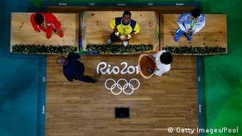 Brasilien Olympische Spiele in Rio - Gewichtheber Oscar Alberto Figueroa Mosquera