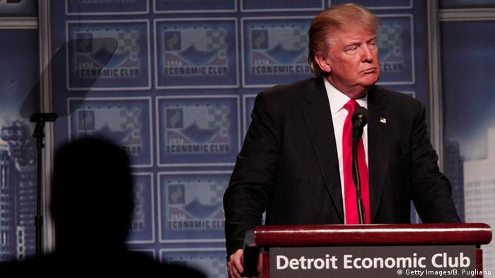 Дональд Трамп в Детройте