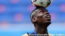 Fußballspieler Paul Pogba