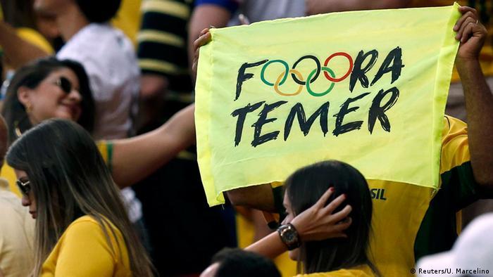 Justiça proíbe repressão a mensagens políticas na Rio 2016
