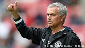 Jose Mourinho Manager Manchester United (picture-alliance/dpa/M.Rickett)