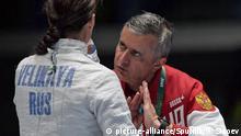Brasilien Olympische Spiele in Rio - Christian Bauer Fechttrainer Russland