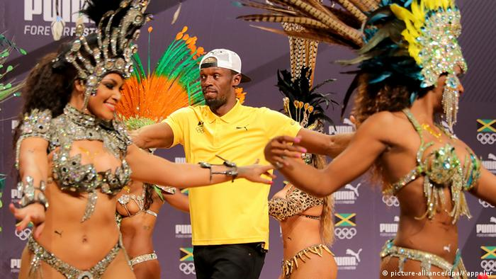 Usain Bolt Rio 2016 Olympia 2016 (picture-alliance/dpa/Kappeler)