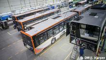Polen - Busse der Firma Solaris