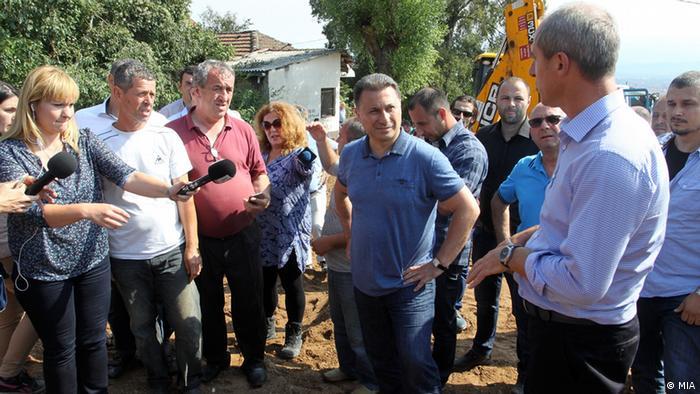 Skopje Unwetter Hochwasser Nikola Gruevski