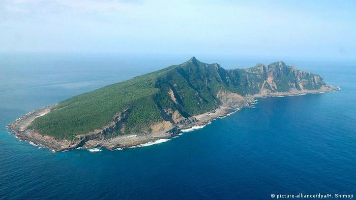 China Inselstreit im Ostchinesischen Meer (picture-alliance/dpa/H. Shimoji)