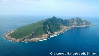 China Inselstreit im Ostchinesischen Meer