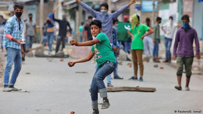 Pakistan weitere Proteste in Srinagar