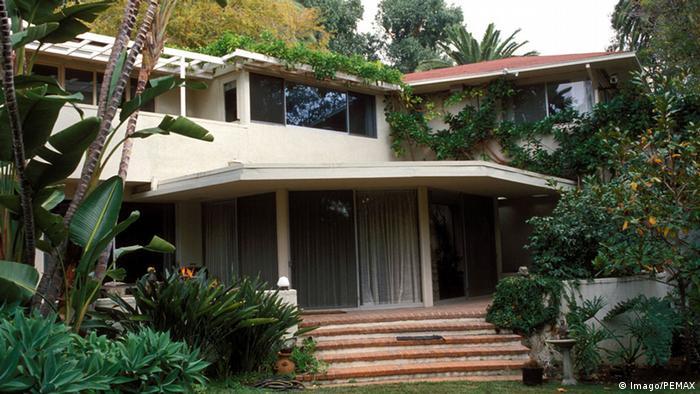 Der deutsche Schriftsteller Thomas Mann im Exil Villa Los Angeles (Imago/PEMAX)