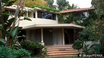 A casa de Mann em Los Angeles