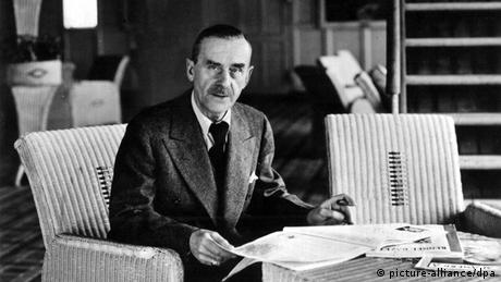 Author Thomas Mann (picture-alliance/dpa)