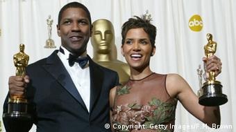 USA - Oscar Gewinner Hally Berry und Denzel Washington 2002