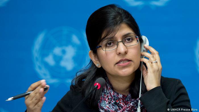 Ravina Shamdasani , Sprecherin UNHCR