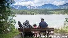 Deutschland - arabische Sommergäste in Garmisch-Partenkirchen