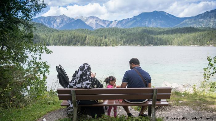Deutschland - arabische Sommergäste in Garmisch-Partenkirchen (picture-alliance/dpa/P. Kneffel)