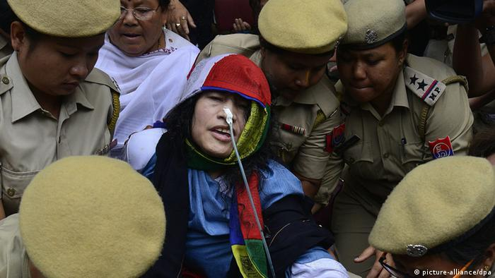 Irom Chanu Sharmila (picture-alliance/dpa)