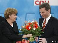 Ангела Меркель и Гюнтер Эттиннгер