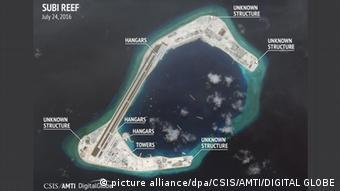 Südchinesisches Meer Subi Reef