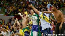 Rio 2016 brasilianische Fans