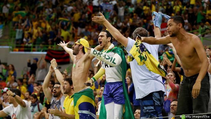 Torcida brasileira nas arenas dos Jogos Olímpicos