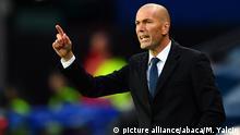 UEFA Super Cup 2016 Real Madrid v. Sevilla Zinedine Zidane
