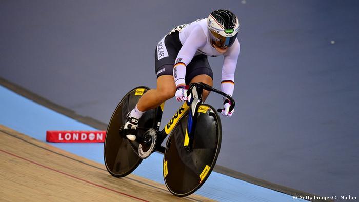 Die Bahnradfahrerin Kristina Vogel (Getty)